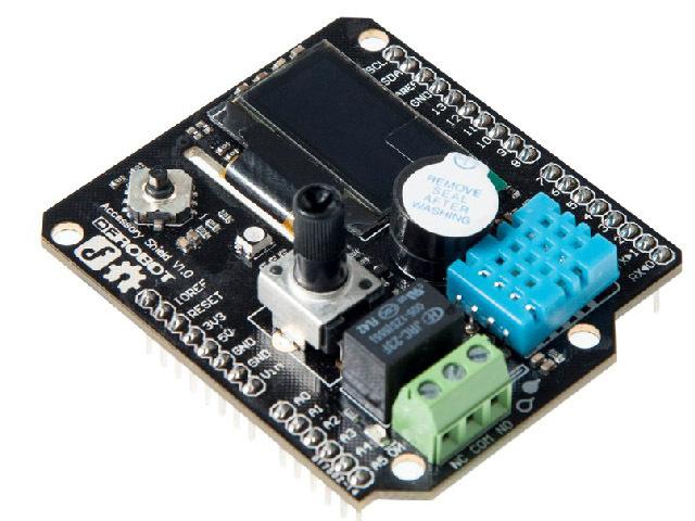 UNO R3 Accessory Shield for Bluno Extension ATMEGA Expansion Development Board DIY KIT Electronic toy robot ATMEGA328P ATMEGA <br><br>Aliexpress