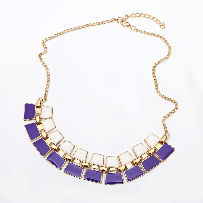 Brand Statement Choker Vintage Charms Geometry Collar Punk Necklaces&Pendants Women Fine Jewelry A170 - Lemon Value Sale store