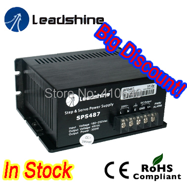 Leadshine SPS487-L Ultra Compact 48 VDC / 4.0A Unregulated Swithing Power Supply with 90-130 VAC Input(China (Mainland))
