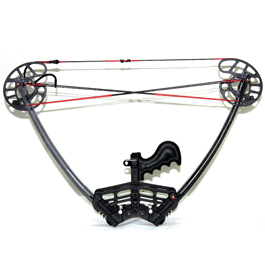 Black Warrior Bow Set hunting Camouflage and Black Triangle Hunting Arrow Set and Compound Bow Archery