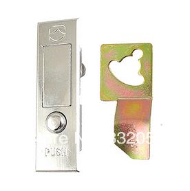 Panel Box Chrome Plated Metal Button Flip Plane Lock<br><br>Aliexpress