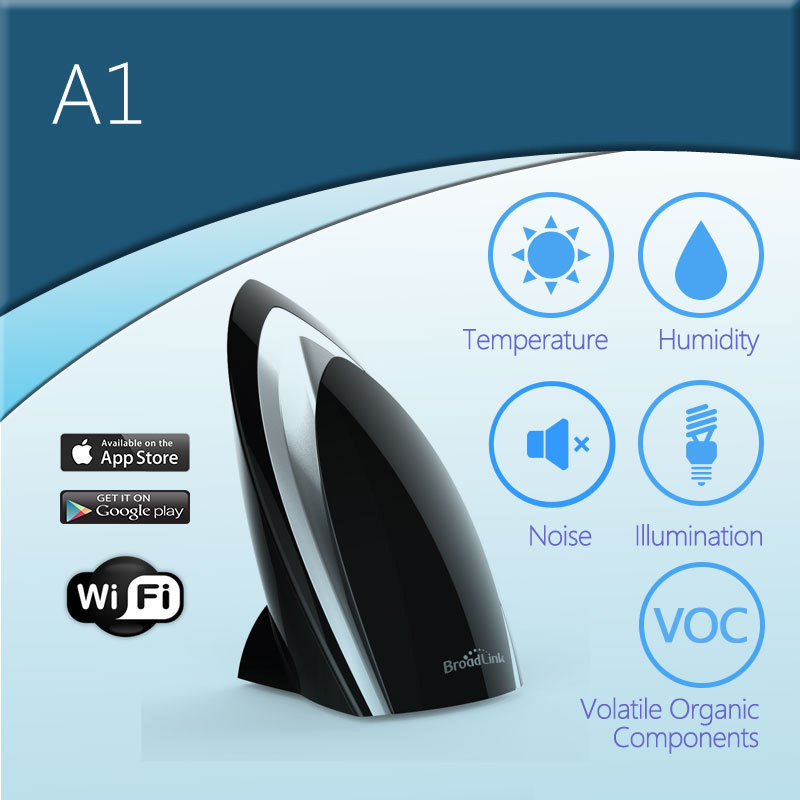 Broadlink RMPro WiFi Smart Home Universal Remote+Smart Automation Control Temperature&Humidity by App  Wifi Environment Detector-7