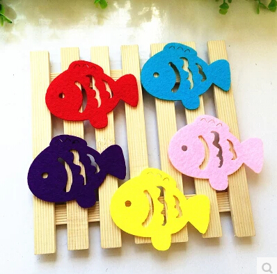 Reusable fish wall stickers kids rooms, DIY Child Home decor - Love green store