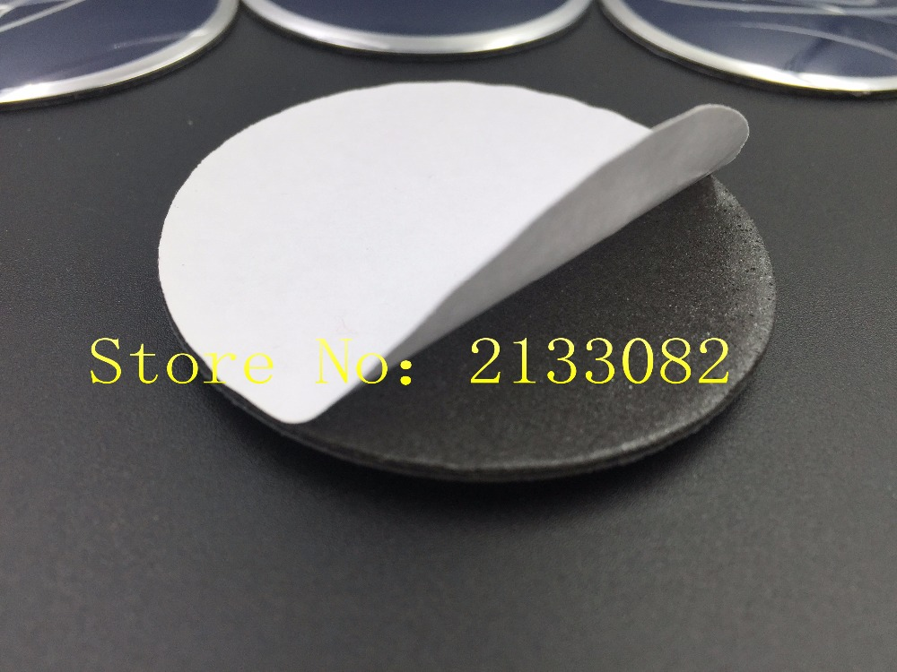 car decoration 4pcs 56.5mm Wheel Center Hub Caps Emblem Silver Badge Decals Stickers for ford car styling(China (Mainland))