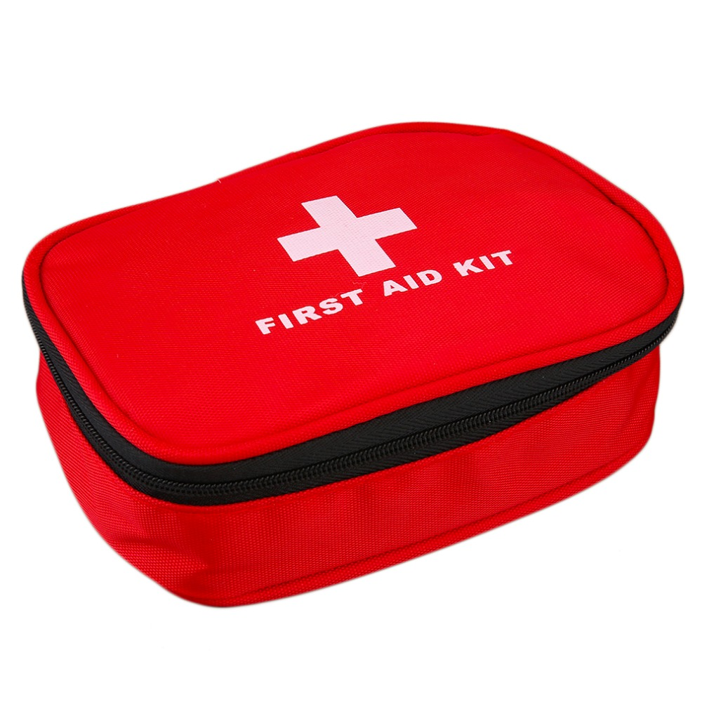 First Aid Bag Emergency Medical Rescue Kit Home Outdoor Sports Travel Camping Home Survival First Aid Case Handbag Red BK-L08(China (Mainland))