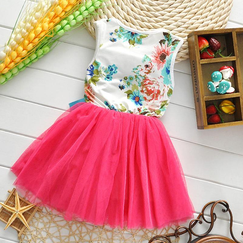 2015 summer girls Lace Floral dress Tutu dress 3 colors Cute Princess Dress kids Baby Dress 2-5 Years Free shipping! A5TZ0001-50(China (Mainland))