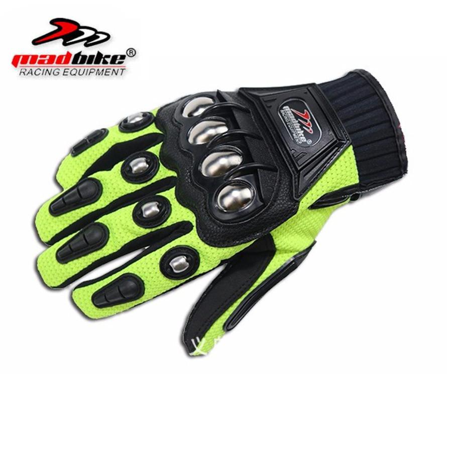 Motorcycle gloves price - Alloy Steel Bicycle Motorcycle Motorbike Powersports Racing Gloves Black M L Xl Xxl Motorcycle Gloves Men Gants