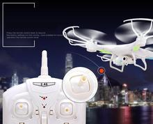 Hot Newest 2.4G Transmitter 6channel Quadcopter professional Drone With Camera hd 2GB TF Card Reader Skyrules X-5C rc
