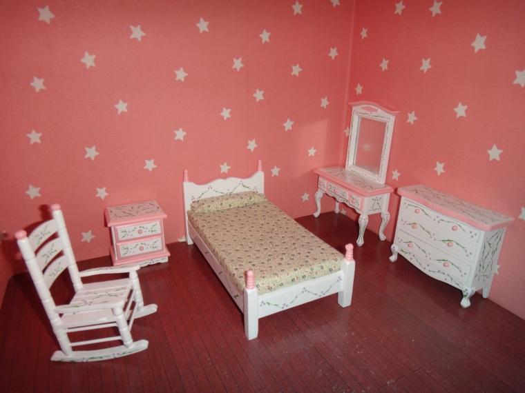 Slaapkamer Meubel Winkel : Miniature Dollhouse Furniture Bedroom Set