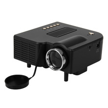 2015 hot UC28 Portable LED Projector Cinema Theater PC&Laptop VGA/USB/SD/AV/HDMI Projector ,Up to 20K Hours Life Mini Projector(China (Mainland))