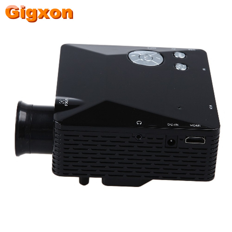 Gigxon - G810 mini led projector Dynamic video 1080P/4K ready,exceed home theater projector for XBOXPS3(China (Mainland))