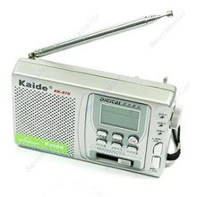 d75 On Sale! High Sensitivity Digital Portable FM MV SW 10 Band Radio Clock Drop Shipping