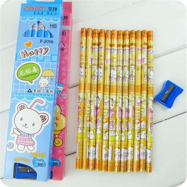 Карандаш Pencil 48pcs/#pc031 17.2cm