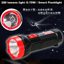 Outdoor portable charging self-defense powerful LED Flashlight delivery - SMART-MAN store