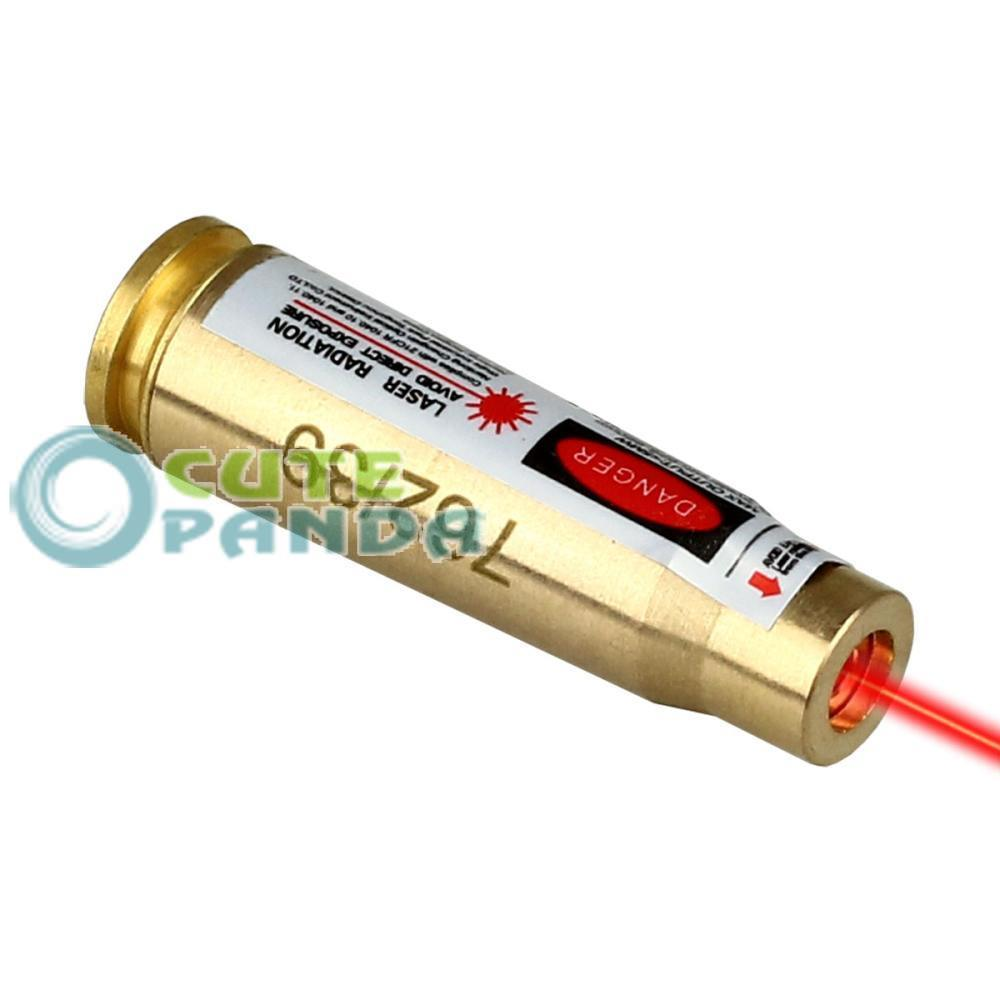 7.62 x 39 Red Laser Sight Bore Sighter Boresighter Sighting Caliber for Hunting free shipping(China (Mainland))