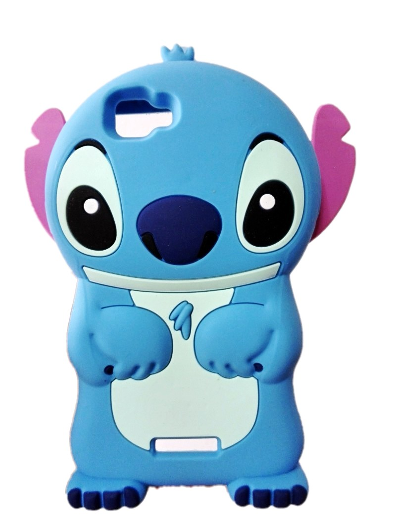 Case Design owl cell phone case : Wiko Rainbow Case 3D Cartoon Stitch Cute design Soft Rubber Silicon ...