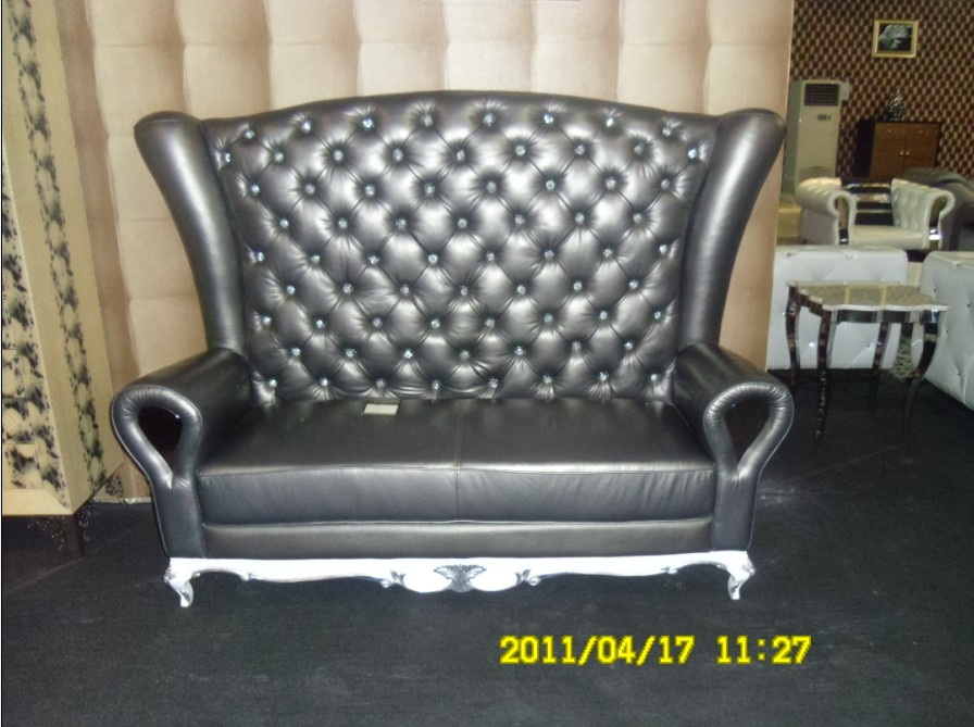 Online kopen Wholesale lederen chesterfield couch uit China lederen ...