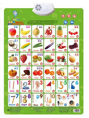 vegetable Baby bump sound wall charts Early childhood sound wall charts Enlightenment In both Chinese and English pronunciation(China (Mainland))