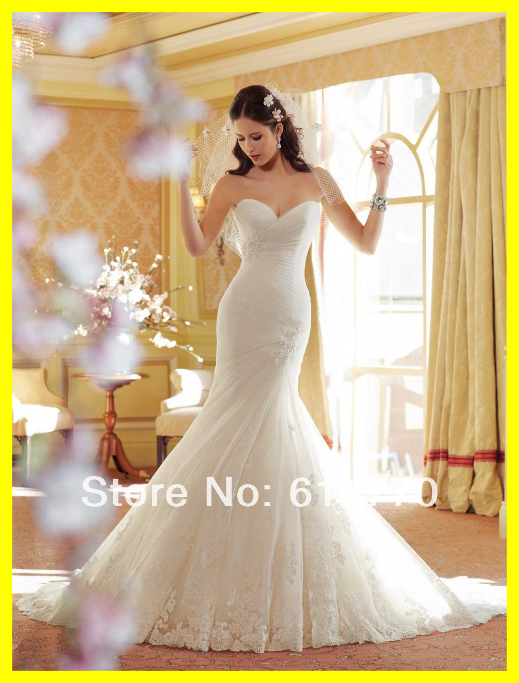 White wedding dresses pink dress non guests mermaid floor for Sale dresses for wedding guests