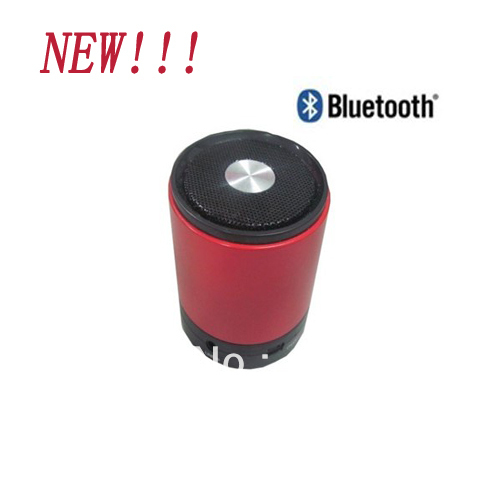 2013 The Latest Mini Sterero Speaker Bluetooth Speaker With USB  Lithium Battery Variable colors Free shipping