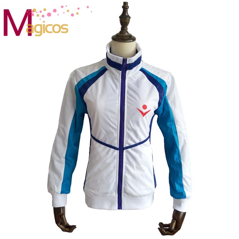 Anime Free! Iwatobi Swim Club Haruka Nanase Cosplay Costume Jacket Coat(China (Mainland))
