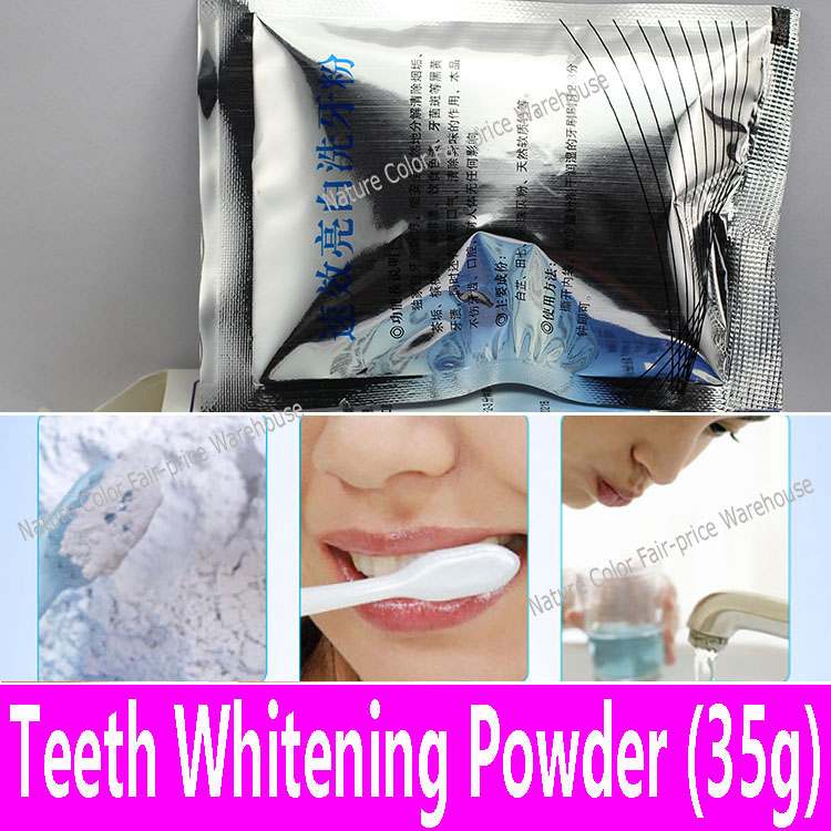 1 piece Teeth Whitening Powder 35g Toothpaste Teeth Stains Removing Powder Quick Scaling Powder to Whiten Tooth Tartar Stains