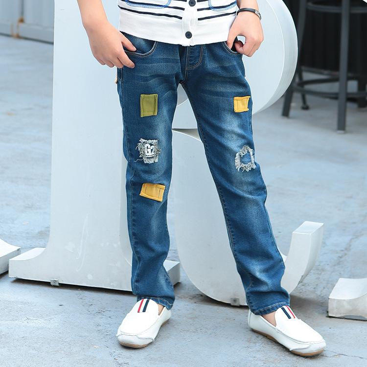 hohe qualit t gro handel jungen zerrissenen jeans aus. Black Bedroom Furniture Sets. Home Design Ideas