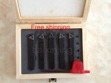 10mm Metric Indexable Carbide Turning Tools 5pcs 5PCS 10MM