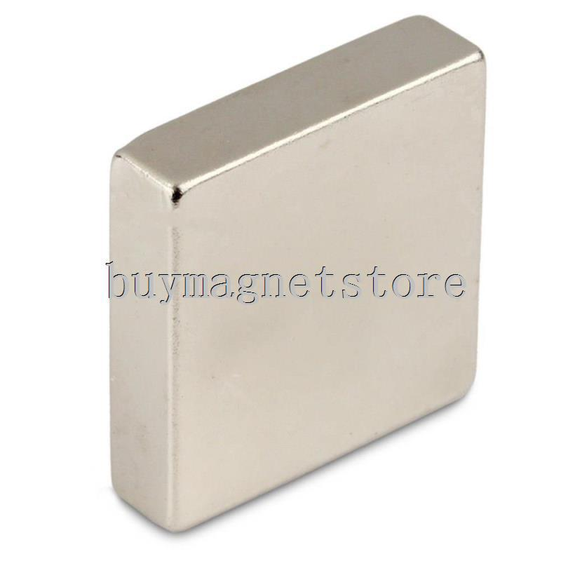 1pc N50 Super Strong Block Cuboid Neodymium Magnets 40 x 40 x10mm Rare Earth Free Shipping!ndfeb Neodymium  magnets<br><br>Aliexpress