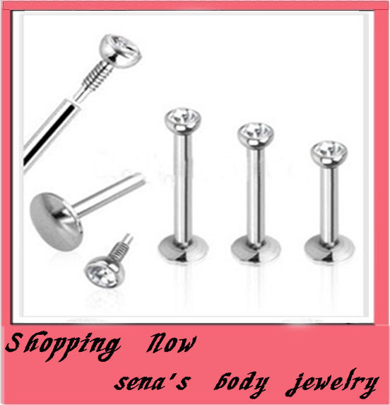 buy fashion labret ring free shipping
