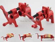 Heavy Duty Pipe Clamp Woodworking German Style Rocker Type 2/4 Inch Pipe Clamp Fixture Carpenter Woodworking Tools