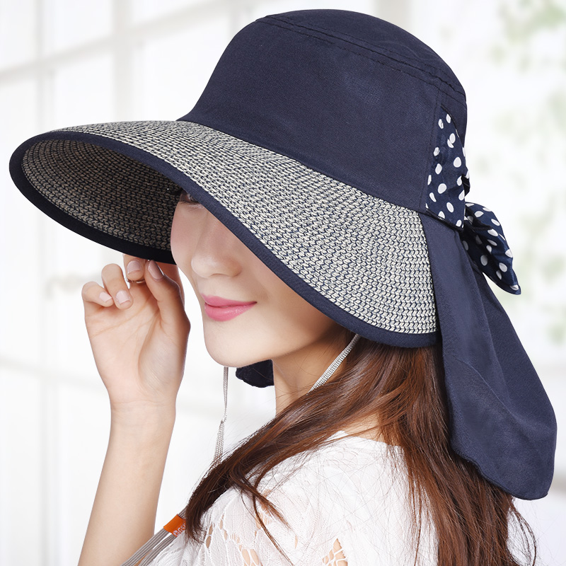 Anti-Uv Female Sunhat Fashion Big Brim Outdoor Shade Summer Women Hat Sunscreen Straw Cap Lady Casual Hats(China (Mainland))