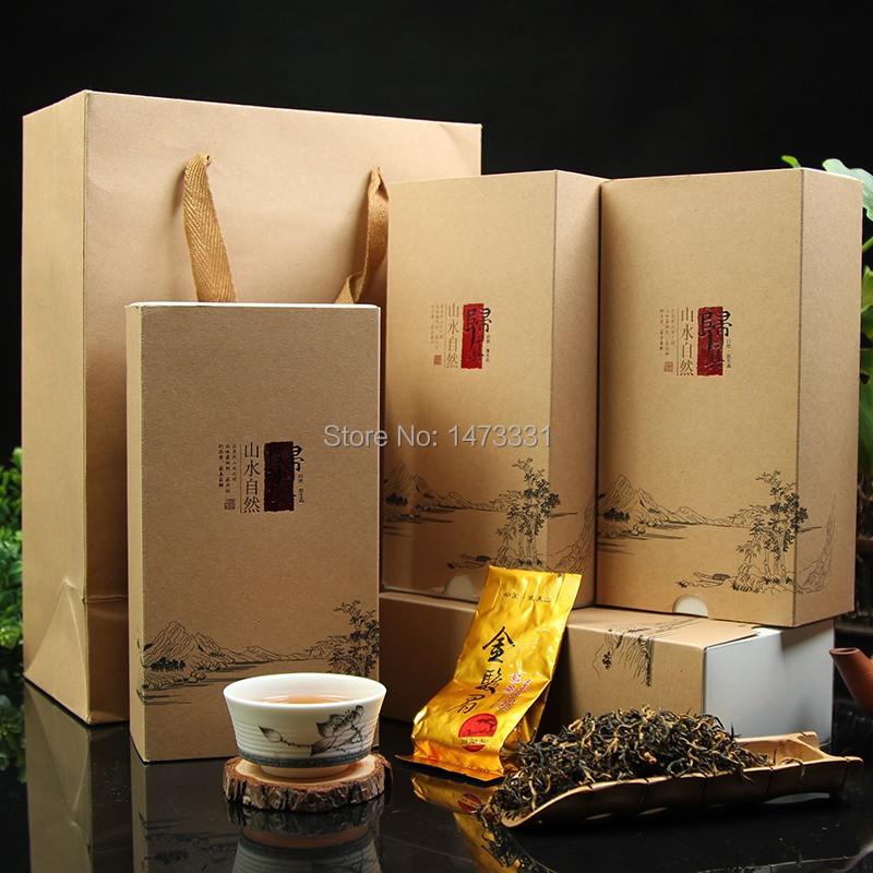 Fujian Tea Jinjunmei, Jin Jun Mei Tea Of Wuyi, Jin Jun Mei Red Tea - 2 Gift Boxes(China (Mainland))