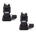 2pcs IP67 Waterproof Walkie Talkie Radio Retevis RT6 5 3 1W VHF UHF FM Radio ANTI