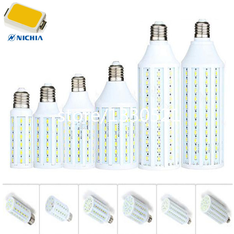B22 E14 E26 E27 E40 LED 7W 12W 15W 25W 30W 40W 50W 70W AC 110V 220V LED Corn Light Bulbs SMD 5630 700-7000 Lumen LED Lamps tube(China (Mainland))