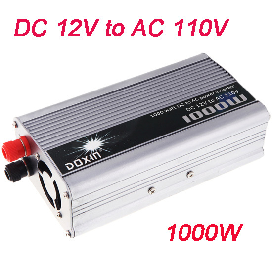 modified sine wave car power inverter 1000w12v 220v(China (Mainland))