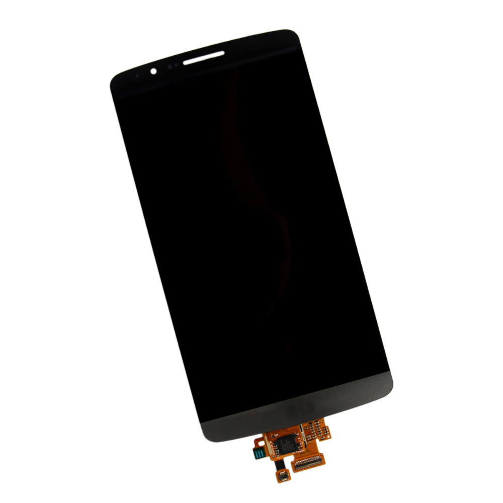 Retail 100% Gurantee Original 1 pcs/lot  Grey Full LCD Display + Touch Screen Digitizer Assembly For LG G3 D850 D855