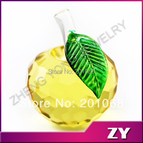 Apple Glasses Price Luck Yellow Glass Apple For