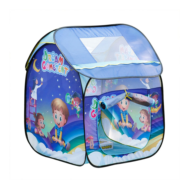 Excelvan Lovely Play Space Simple Blue Children Gream Game Play Tent With Vivid Picture(China (Mainland))