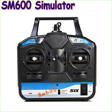 1pcs FS-SM600 6CH USB Simulator for helicopter/glid/airplane(AeroFly ,RealFlight G3.5 ,Reflex XTR,RealFlight G4) Dropship(China (Mainland))