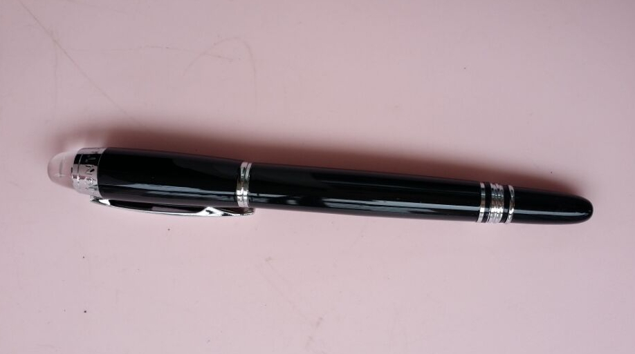free shipping Old Satisfactory mon blanc fountain pen Black Starwalker Pens with pencil case P4810 Prime quality