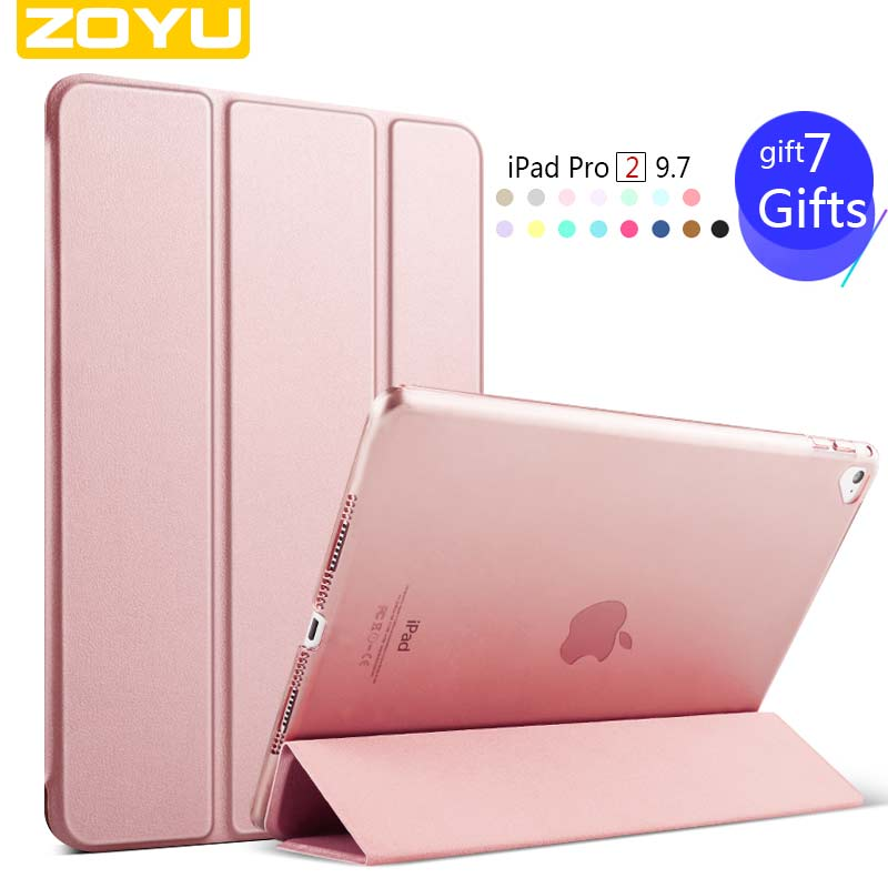 zoyu Smart Case For iPad Air Magnetic PU Leather Protective Cover Tablet for leather case for flip ipad air For iPad 5 case(China (Mainland))