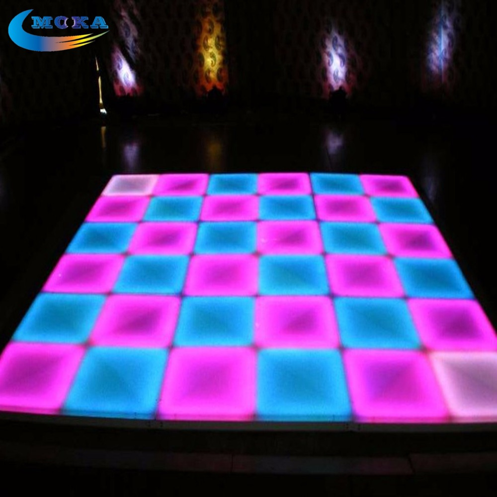 1m 1m led disco dance floor light make dmx led dance