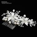 bridal hair comb wedding hair comb Flower Hair Jewelry Beautiful Bridal Accessories hair jewelry wedding Valentine