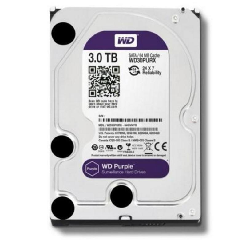 "Western Digital WD 3TB HDD Hard Drive Disk For Security HDD 3.5"" SATA DVR CCTV PC HDD Surveillance Hard Drives WD30PURX(China (Mainland))"