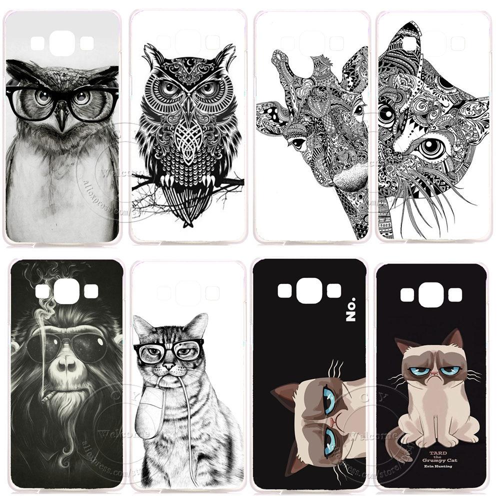 New Super Fashion Luxury Hard Plastic Case Cover Samsung Galaxy S3 S4 S5 Mini S6 S7 Edge Plus Note 2 3 4 5 J1 J5 J7