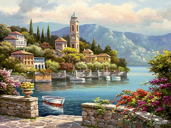 Frameless Home Decor Picture Painting By Numbers Wedding Decor DIY Canvas Oil Painting Wall Art For Living Room Picture