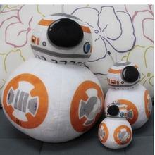 20 cm New arrive star wars The Force Awakens bb-8 droid bb8 plush Toys Plush Toys Brinquedos Kids Robot  juguetes