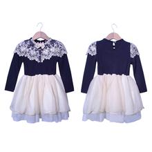 winter roupa meninas vestido tutu little girls dresses bow kids girl long sleeve princess casual dress for party wedding white