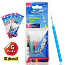( 5 упак. / lot ) Pesitro межзубных кисти 0.4 мм — 1.2 мм стоматологическая межзубные щетки ортодонция кисти уход за полостью зубная щетка